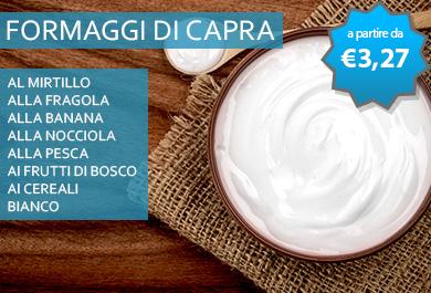 Yogurt di capra